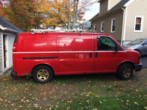 2006 Chevy express ALL WHEEL DRIVE VAN