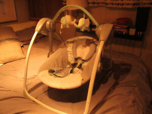 Baby Swing Variable Speed Electric Motor Plays Music