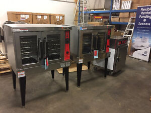 OVER STOCKED - STOREYS RESTAURANT EQUIP - CONVECTION OVENS VULCA