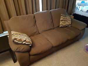 3 COUCH SET (Two Full 3 seat couches + love seat)!