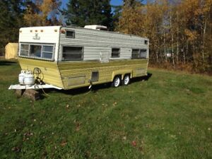23' travel trailer