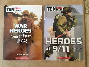 TEN TRUE TALES-WAR HEROES, HEROES OF 9/11