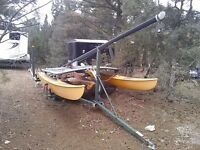 Hobie Cat and Trailer For Sale