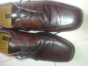 Brown Leather Bostonian Leather Shoes Size 10.5