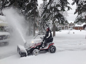 """Snowblower 42"""" attachment for Lawn Tractor for sale $500 obo Prince George British Columbia image 3"""