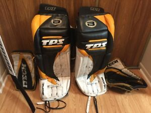 Complete set of Goalie Gear going cheap.