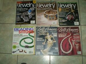 MAKING BEADED AND OTHER JEWELRY  MAGAZINES
