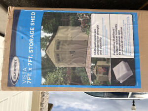 Brandnew in box Suncast Storage Shed! 7ftx7ft
