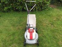 Honda rotary push mower HR17 4 stroke engine great lawnmower light compact