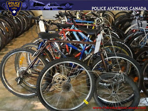 Lot of 16 Assorted Used Bikes and Parts