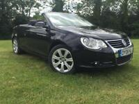 2008 Volkswagen Eos 2.0TDI Sport FULL LEATHER FULL SERVICE HISTORY HPI CLEAR