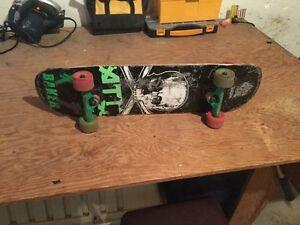 ATM custom skate board