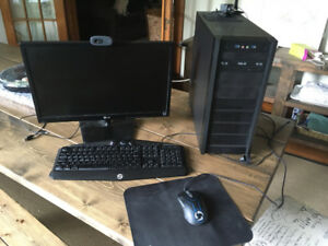 Custom Gaming Computer - 6 Core AMD 3.9GHz / 256 SSD / 2GB VRAM