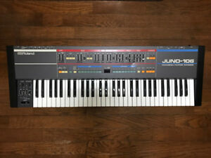 Roland Juno 106 - 1984 6 voice polyphonic analog synth