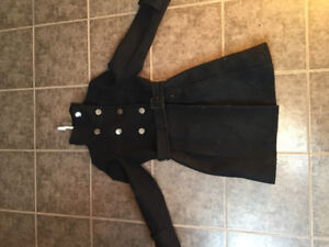 Italian wool and cashmere coat