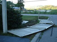 FREE- Wood Fence Panels, Dismantle & Haul Away