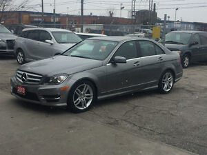 2013 Mercedes-Benz C-Class C300 4matic amg sport pck one owner