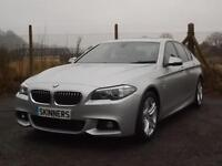 BMW 5 Series 518d M Sport £8280 worth of extras DIESEL AUTOMATIC 2013/63
