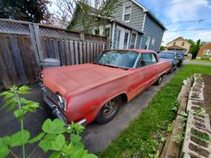 1964 impala SS with 454