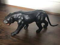 Vintage glass eyed 1960s Panther rare made in India