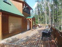 Cabin for rent in Moyie, B.C.