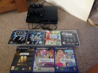 PlayStation 3 Sony PS3 Boxed 250GB with controllers & games