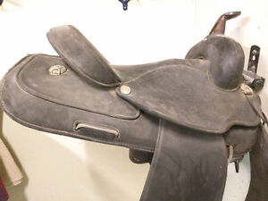 "15"" Wintec Western Saddle"