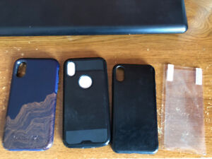 Various iPhone X cases