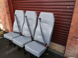3 van rear seats
