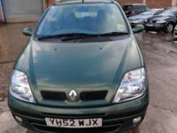 Renault Scenic 1.6 16v Expression 5 DOOR - 2002 52-REG - 5 MONTHS MOT