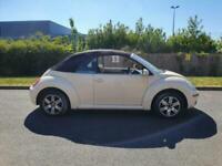 2007 Volkswagen Beetle 1.6 Luna 2dr CONVERTIBLE Petrol Manual