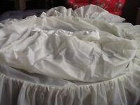 Bridal hooped underskirt