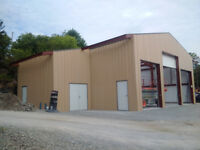 Steel Building sales and Erecting Services in Brockville