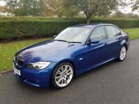 BMW 330i (3.0cc) M SPORT - AUTOMATIC - 4 DOOR - 2007 - BLUE