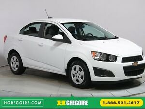 2015 Chevrolet Sonic LS AUTO BLUETOOTH