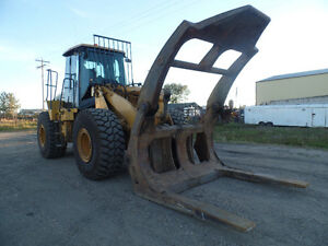 2005 CATERPILLAR 950G WITH LOG GRAPPLE AT www.knullent.com Edmonton Edmonton Area image 7