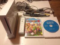Nintendo Wii + Mario party 8