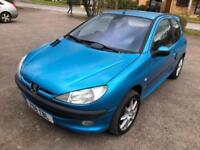 2001 Peugeot 206 1.4 ( a/c ) GLX
