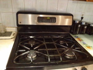 GE COOKING RANGE GAS FOR SALE STAINLESS STEEL