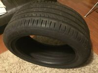 Like new car type 225-45-17 with 6mm thread