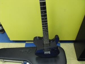 American fender Telecaster Deluxe HHQ cobalt blue very rare