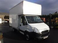 IVECO DAILY 35C15 LUTON VAN WITH TAIL LIFT, White, Manual, Diesel, 2012