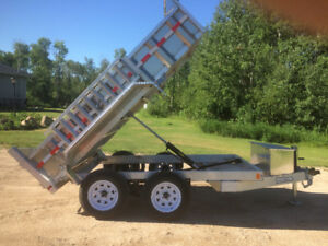 New Aluminum Dump Trailers, More Payload, Less Rust than Steel