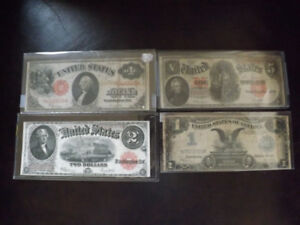 COLLECTION: BILLET D'ARGENT États-Unis - US EARLY PAPER MONEY