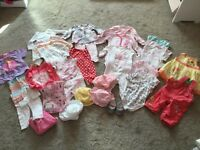 Baby girl bundle 6-9 months summer clothes (next, gap, m&s, mothercare)