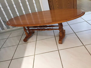 BEAUTIFUL SOLID WOOD MAPLE TABLES