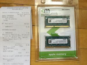 Apple 8Go ram upgrade
