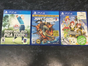 PS4 Games (3) / Xbox One Games (4)