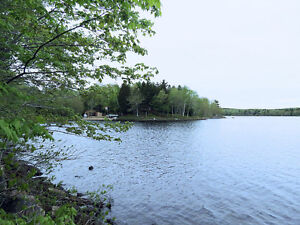 PRICE REDUCED - Lakefront Lot Sherbrooke Lake - Time to Build!