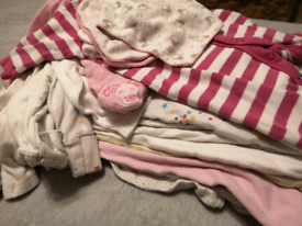 Baby girl 0-3 bundle of clothes